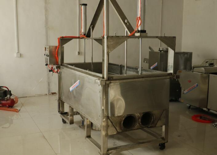 JDSZ系列电/气侧翻油炸锅、JDSZ系列电/气提升油炸锅