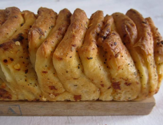 起酥食品糕点店铺食谱:枫叶培根的拉片式面包